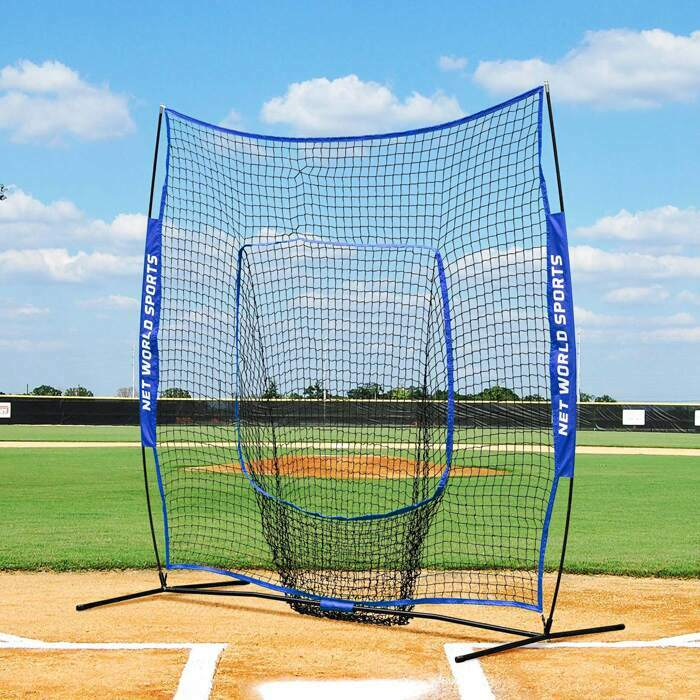 Professional Baseball Protective Screens | Pop-Up Baseball Sock Net