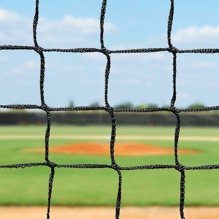 Baseball Sock Net With Heavy Duty Knotless Netting