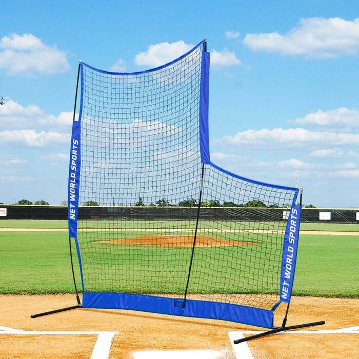 Portable L Screens For Baseball Pitching Practice