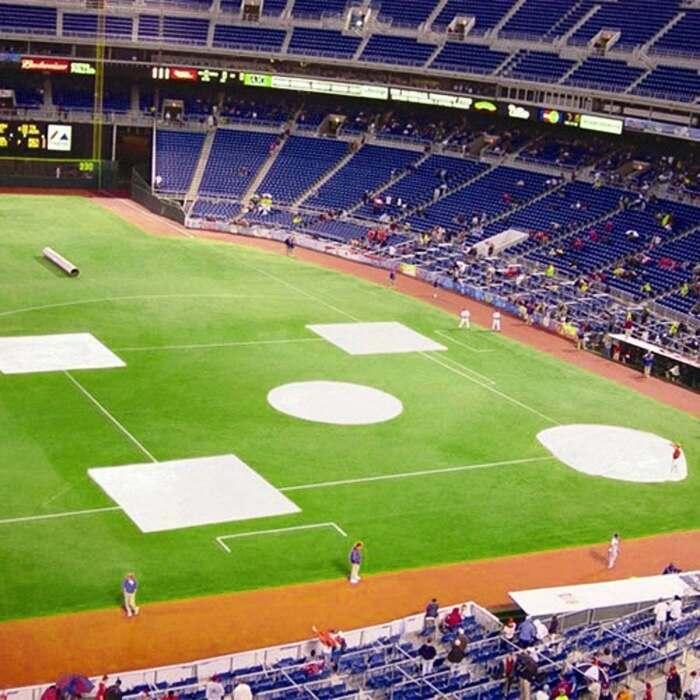 baseball tarp covers