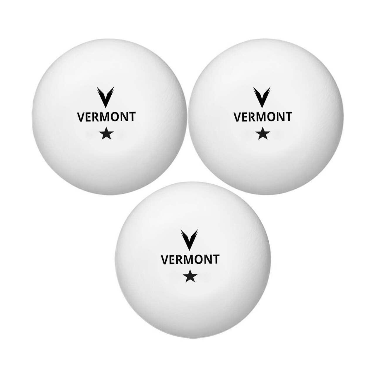 Vermont 1-Star Ping Pong Balls (90 Ball Bucket)