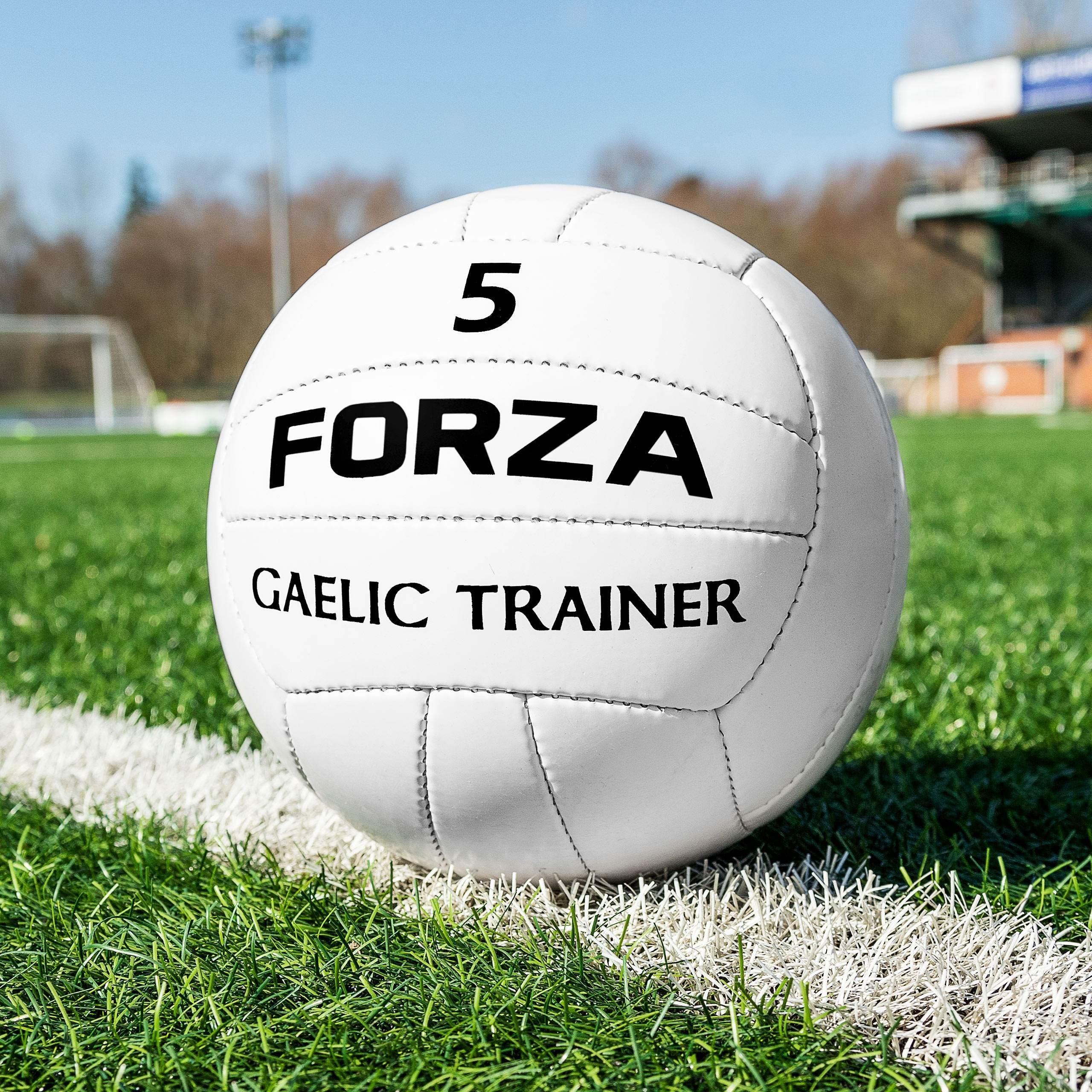 FORZA Gaelic Training Football (Size 5) (Pack Of 1)