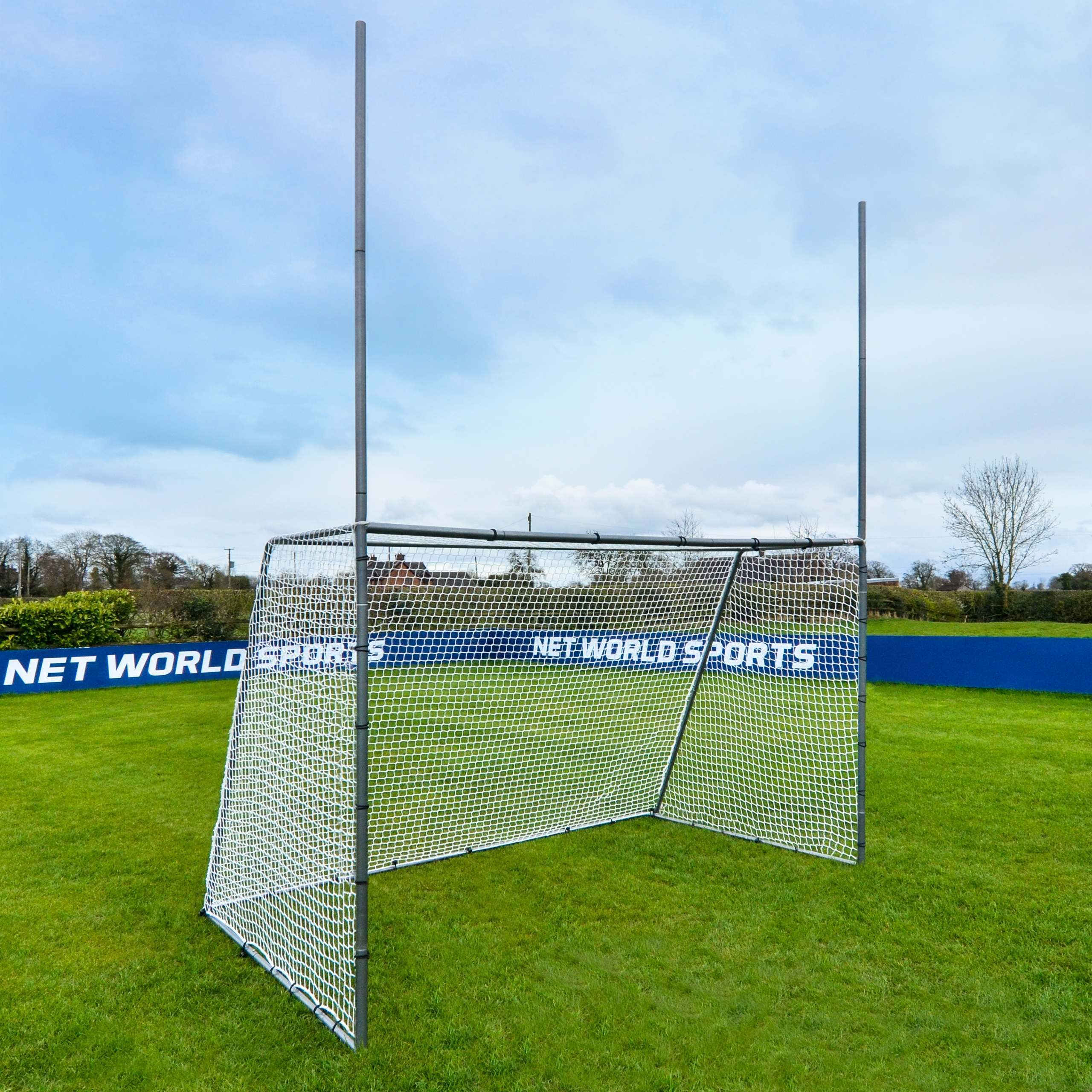 3m x 1.8m FORZA Steel42 GAA Gaelic Football & Hurling Goal