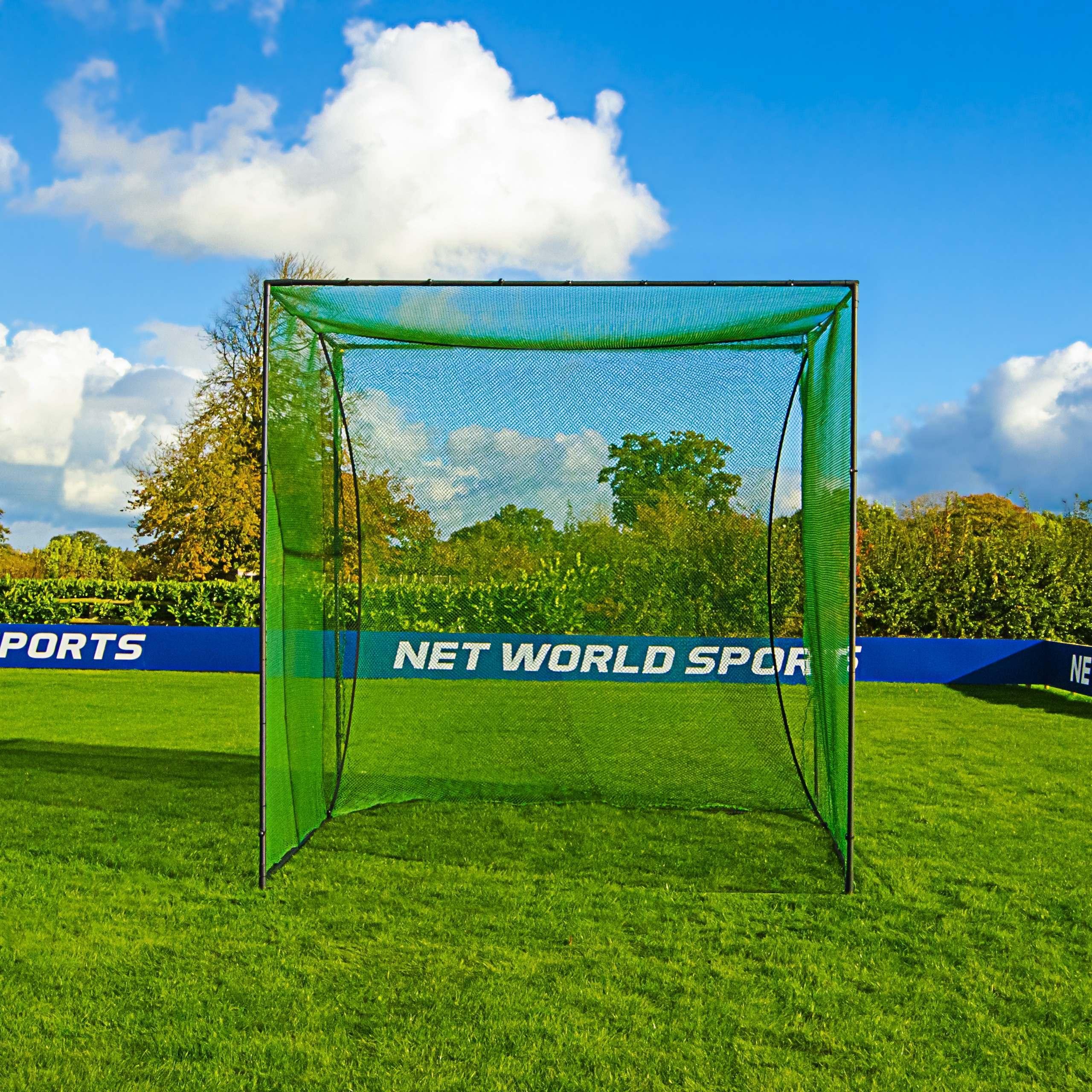 Jaula de golf autónoma con redes [Para campos de practica]