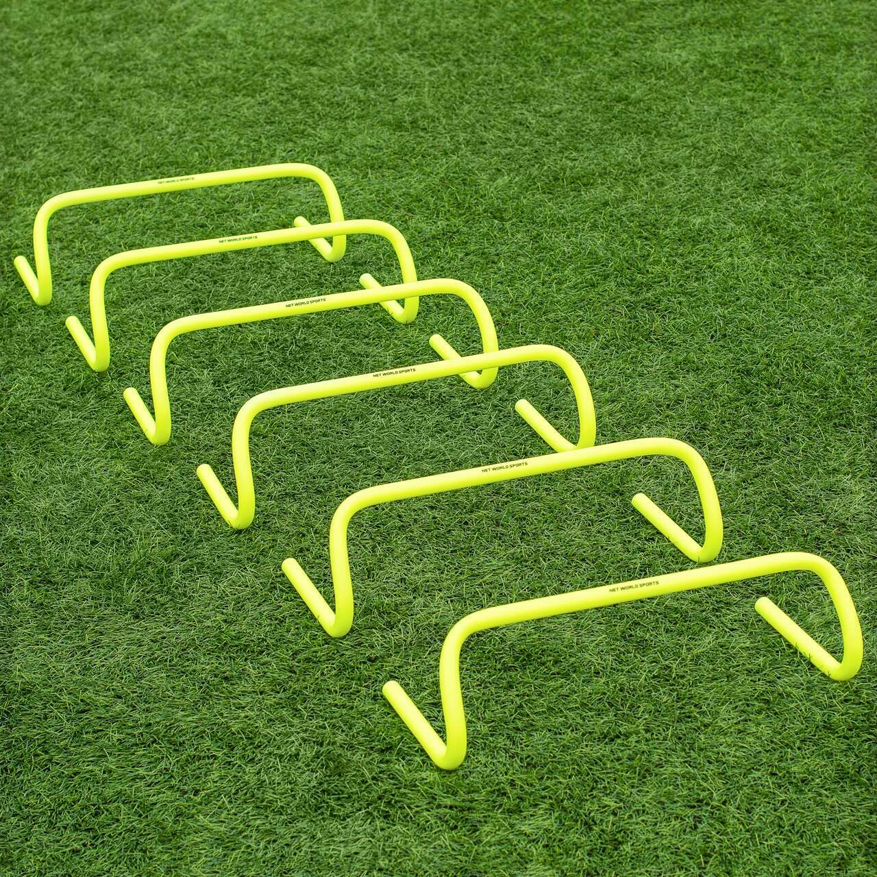 6 Inch FORZA Speed Training Hurdles [6 Pack]