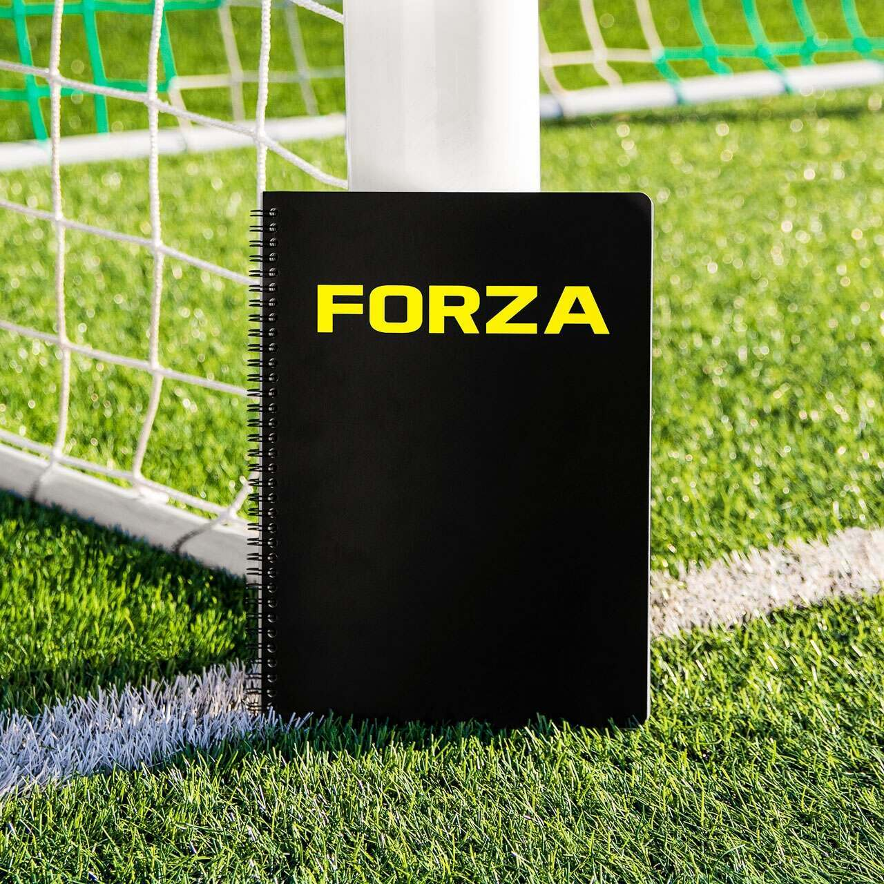 FORZA Football Coaching & Training Notebook [A4/A5]
