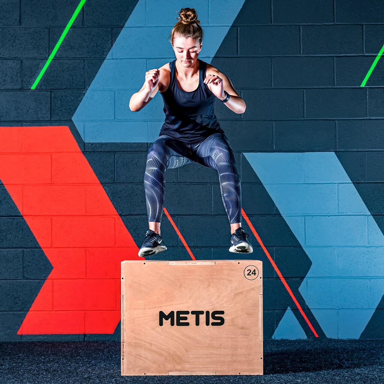 METIS 3-in-1 Wooden Plyometric Jump Box