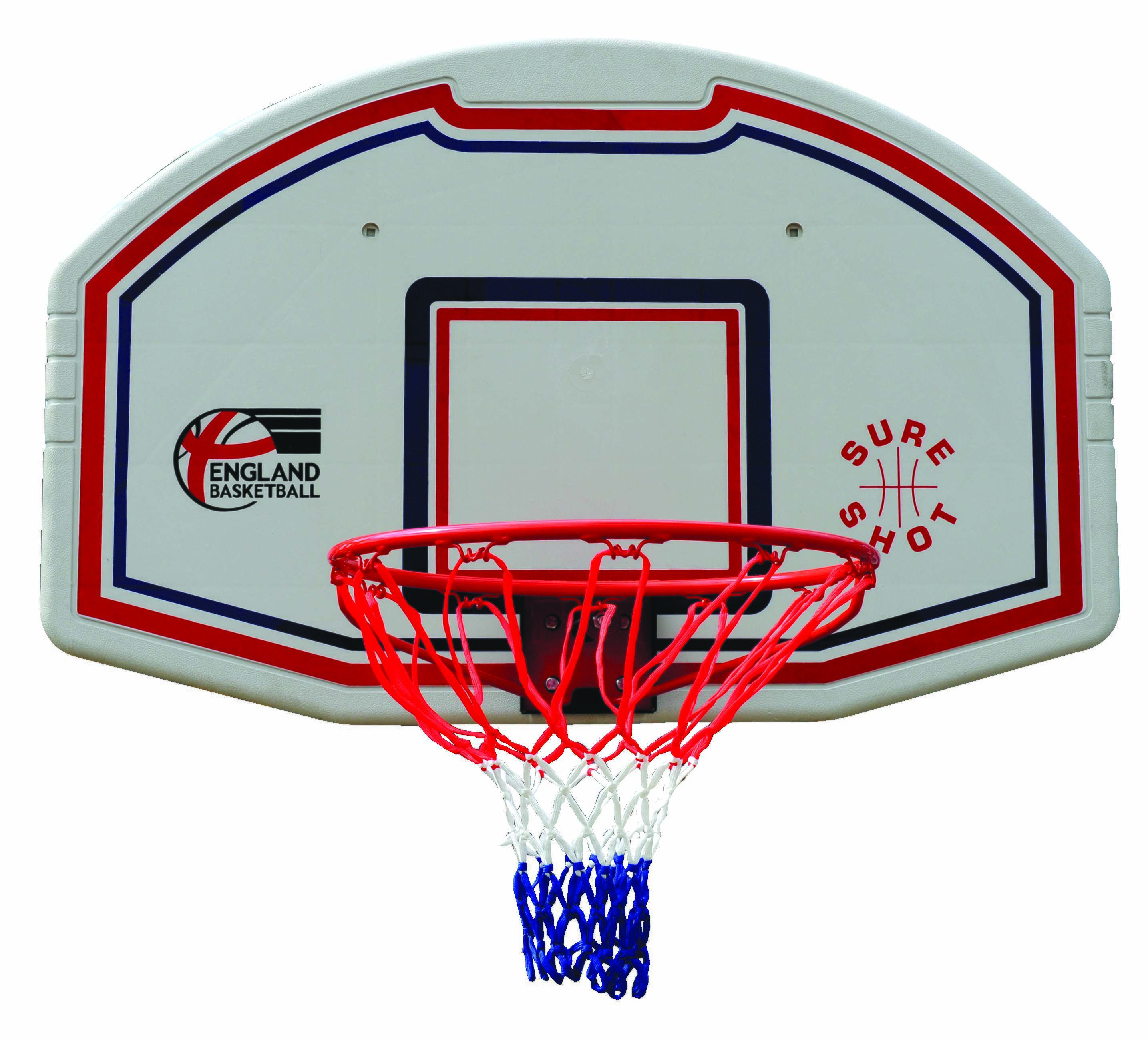 Mountable Basketball Backboard & Flexible Hoop