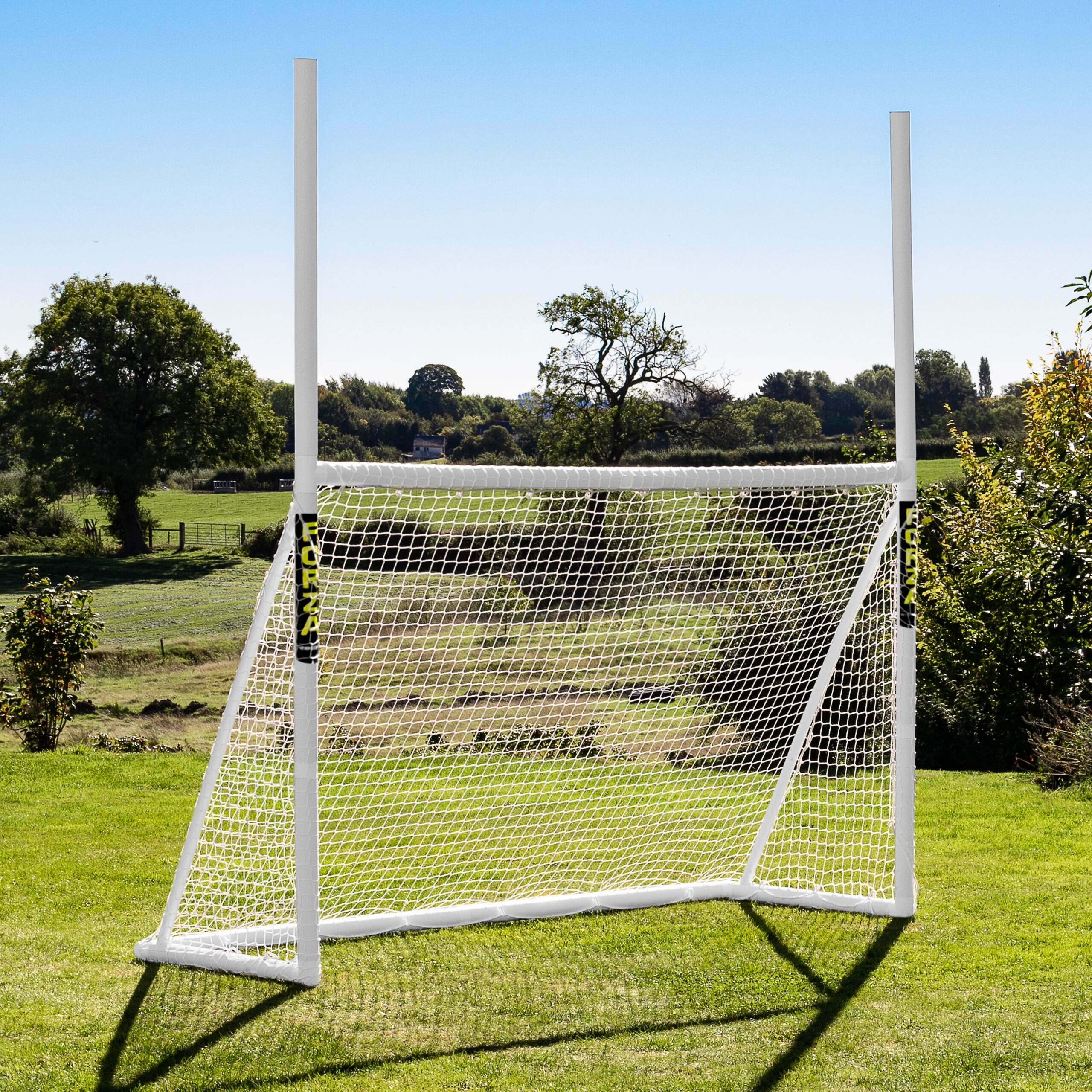 8 x 5 FORZA Combi Rugby & Football Goal Posts