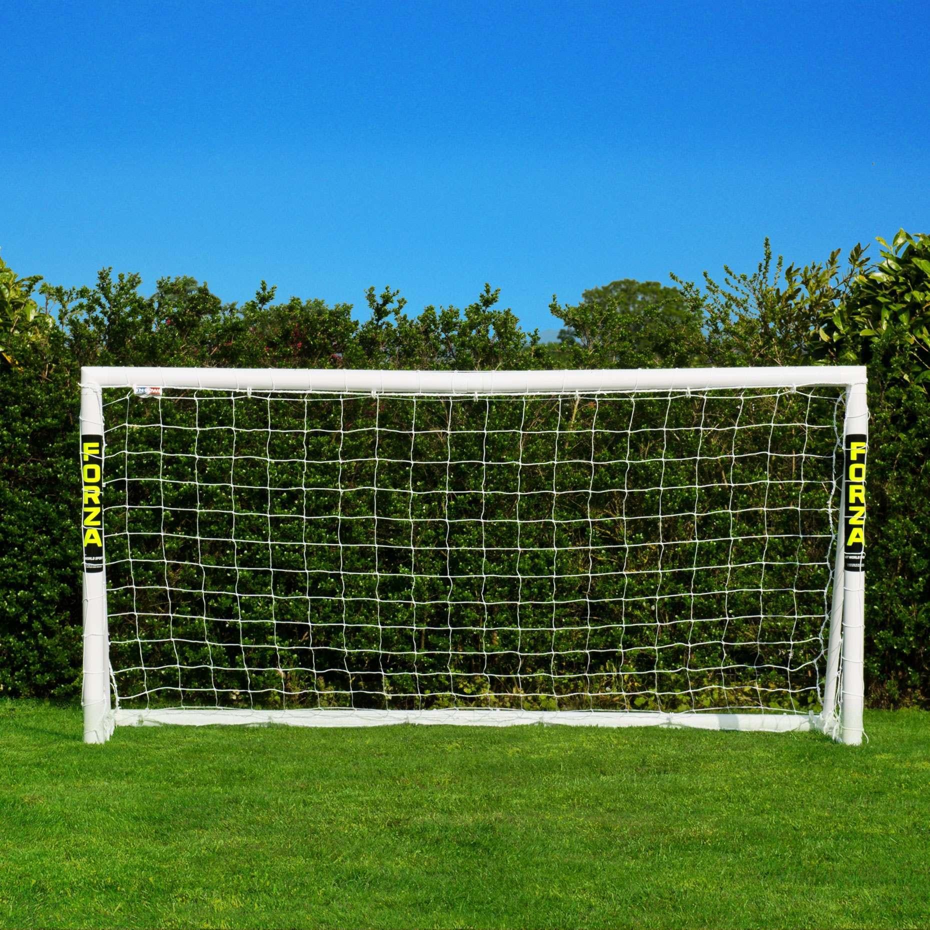 10ee0a31b 8 x 4 FORZA PVC Soccer Goal Post | FORZA Goal