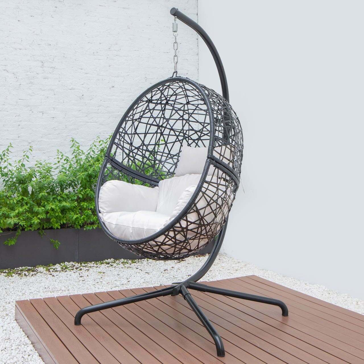 Harrier Hanging Egg Swing Chairs 2 Sizes Net World Sports