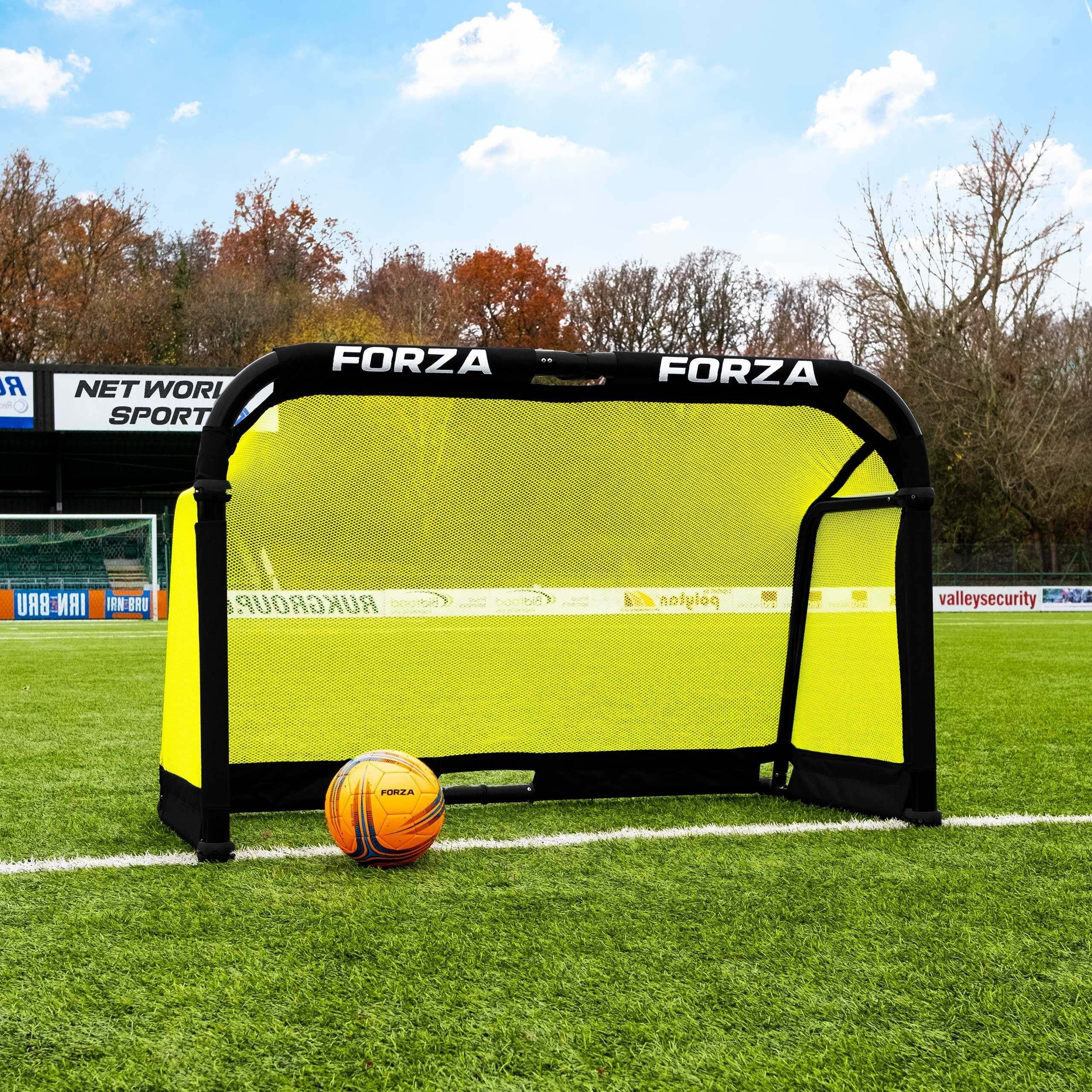 FORZA POD Aluminium Folding Football Goal – 1.5m x 0.9m