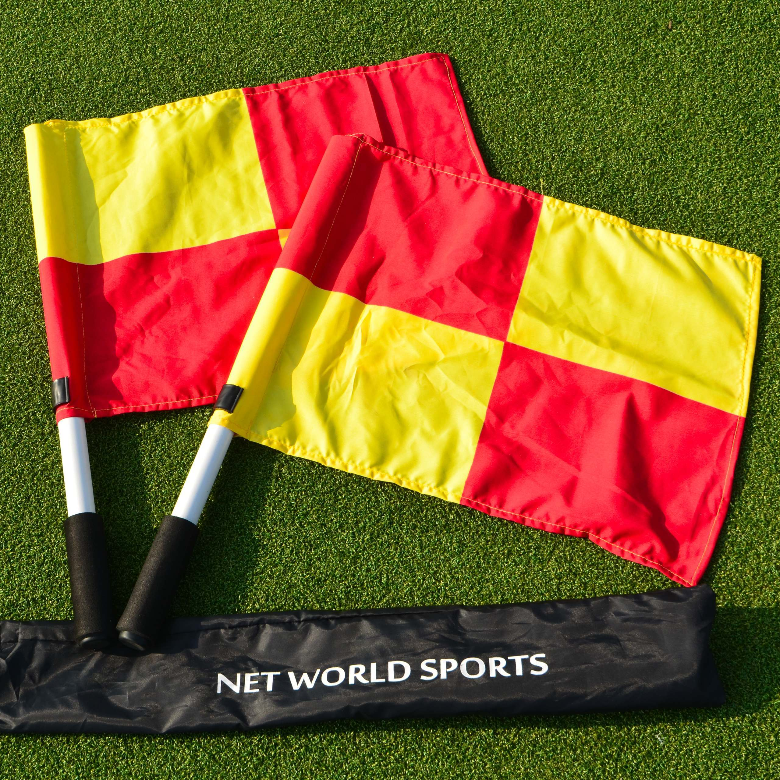 Rugby Linesman Flags Net World Sports