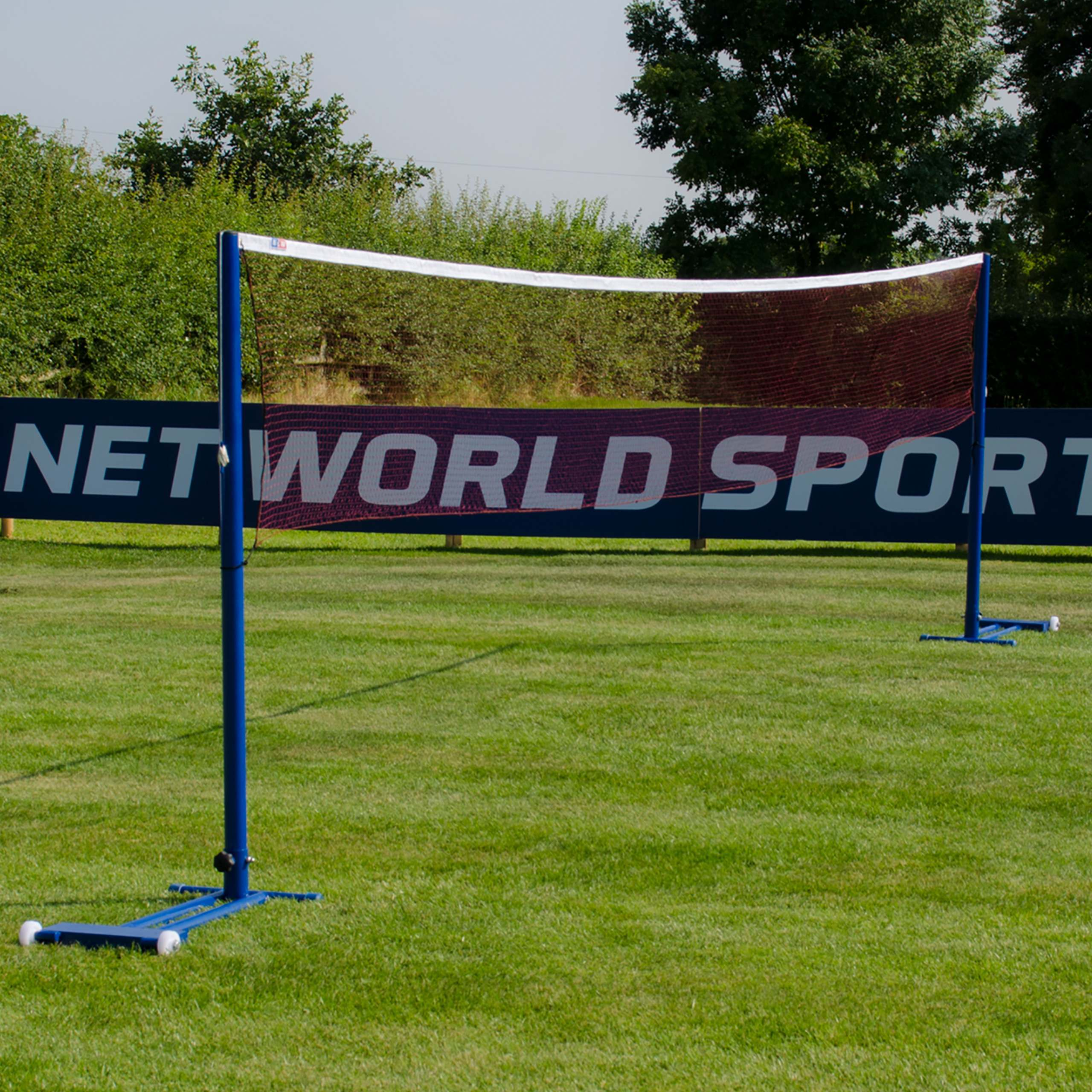 Vermont Badminton Posts & Net - Freestanding