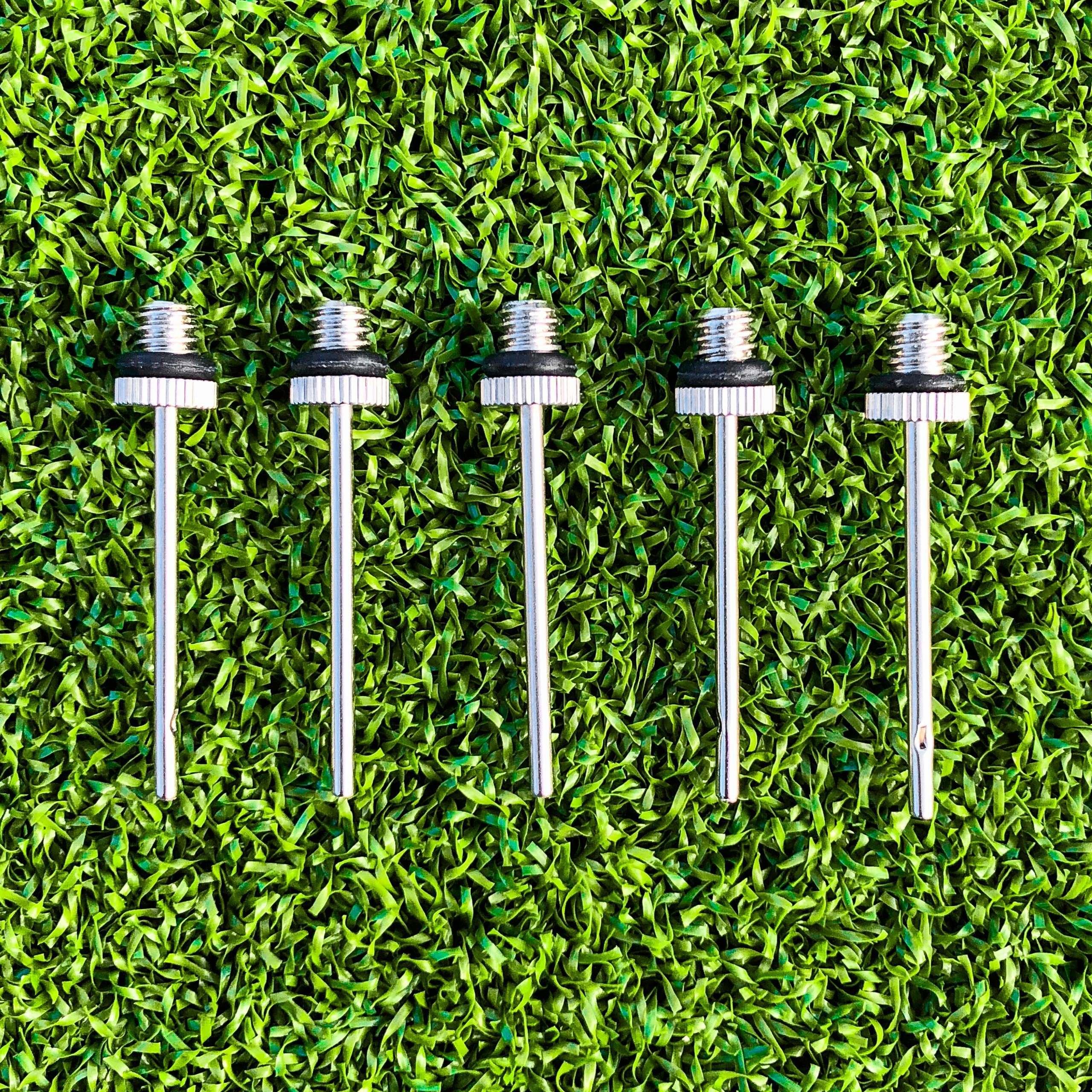 FORZA Needle Valves Football Ball Pump Needles 5 Pack