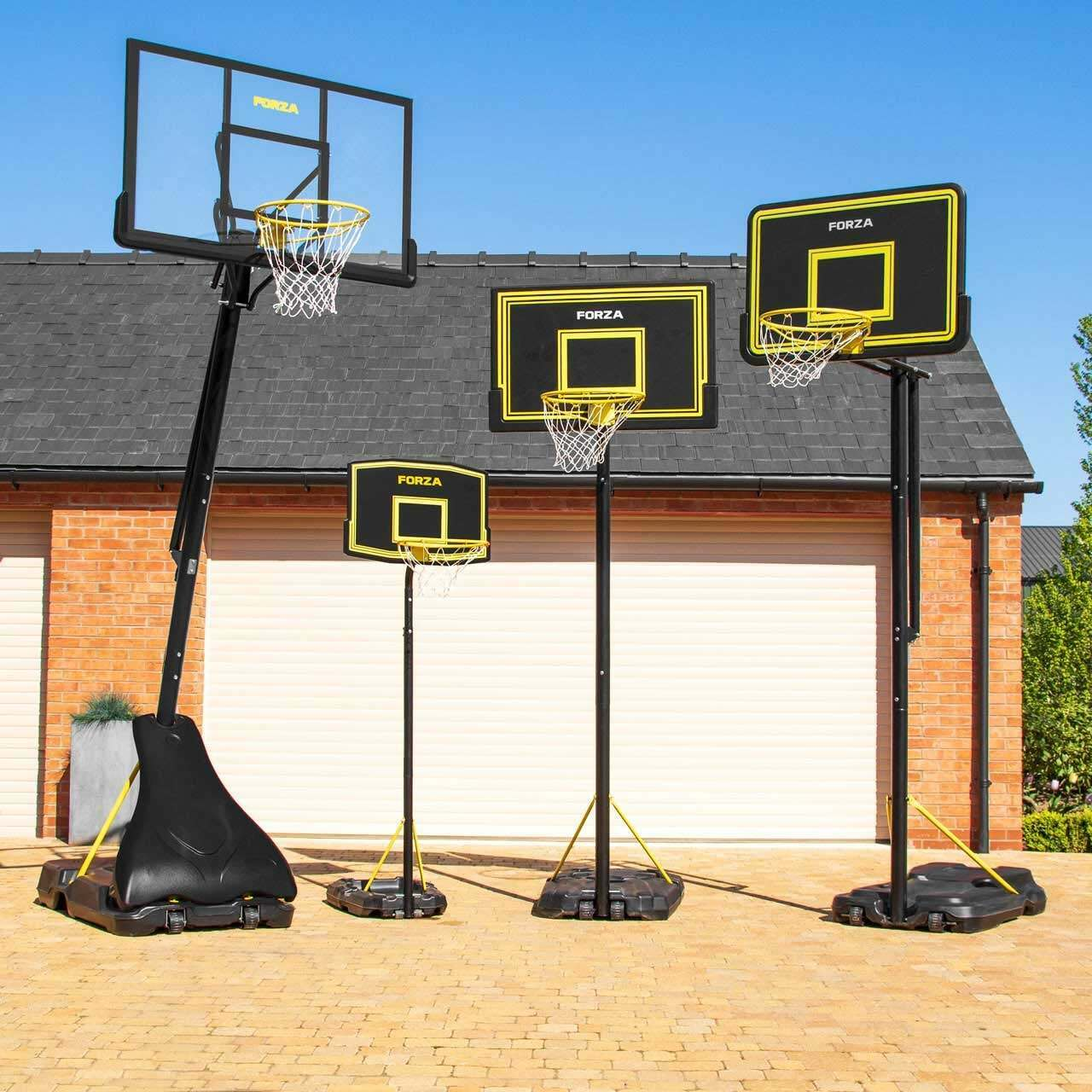 Fully Adjustable Portable Basketball Hoop Net World Sports