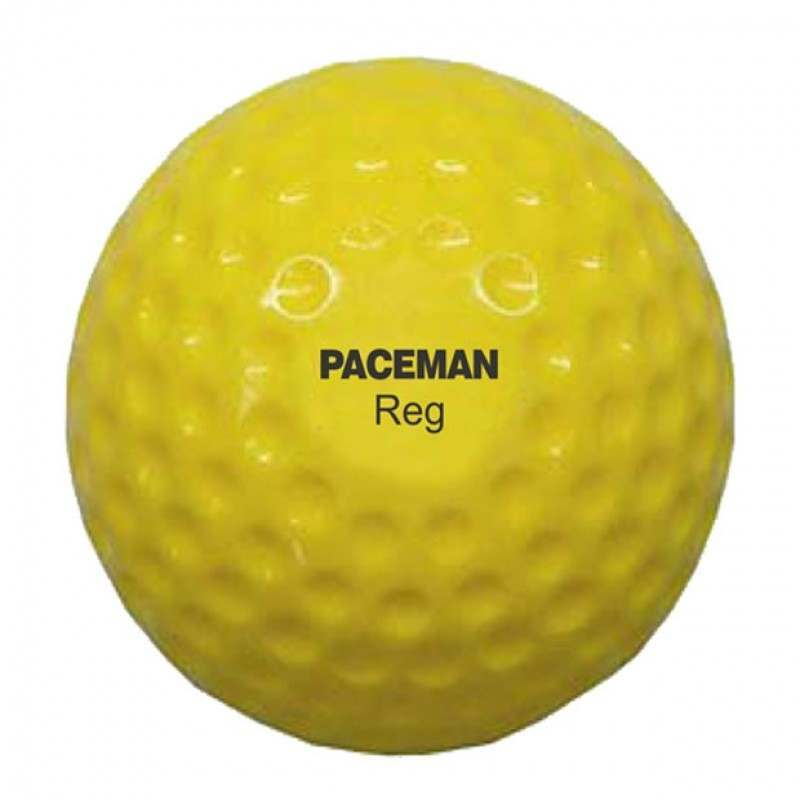 Paceman Regular Hard Pitching Machine Balls – 12 Pack