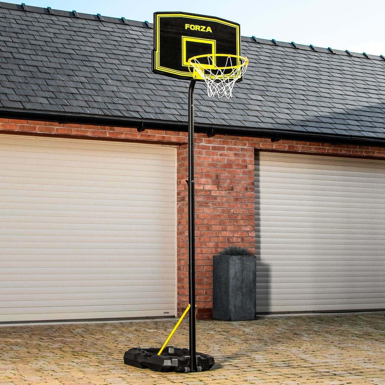 FORZA verstellbarer Basketballring und Pfostensystem - JS220