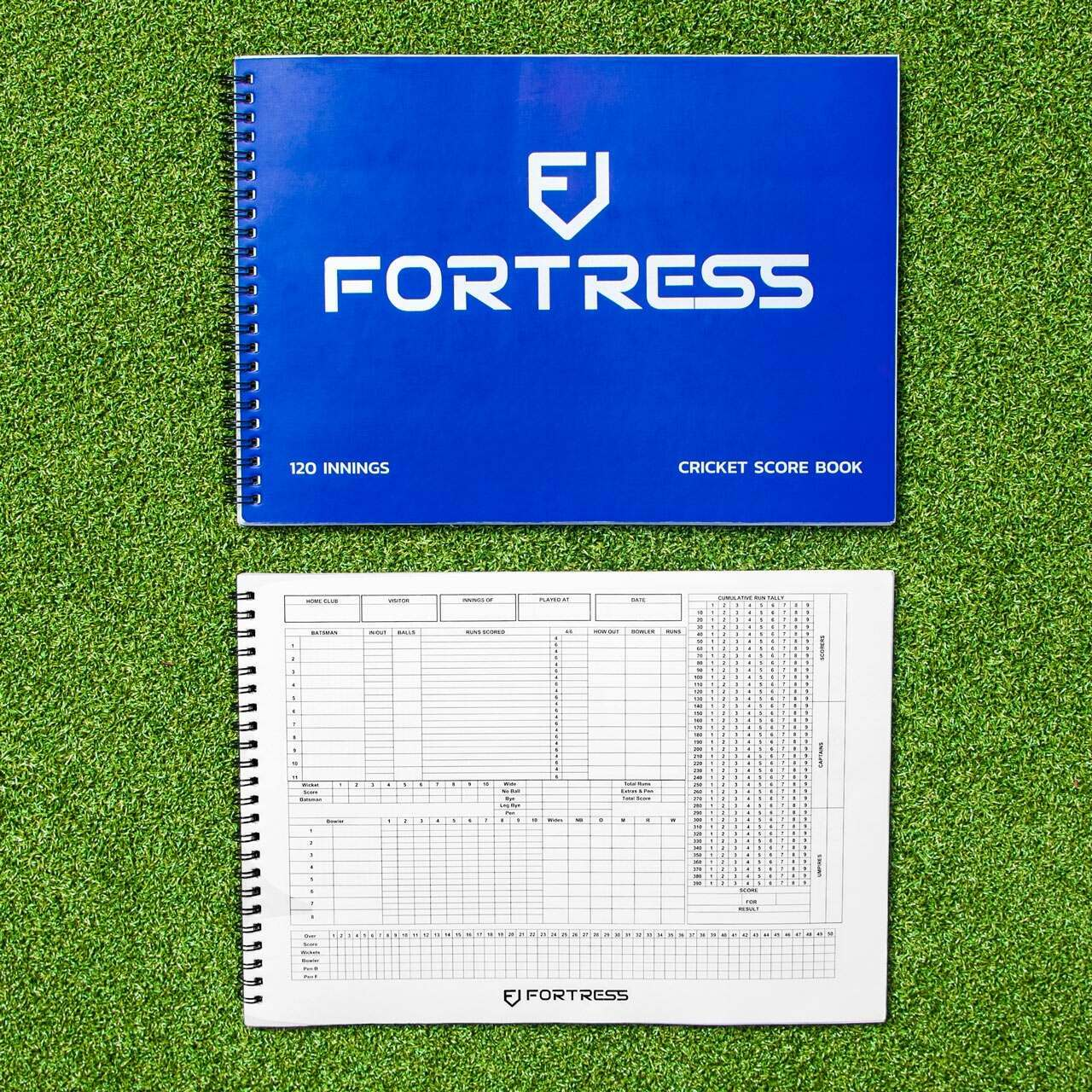 FORTRESS Cricket Scorebook