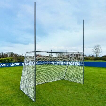 Galvanised Steel GAA Gaelic Football & Hurling Goal For The Garden | Net World Sports