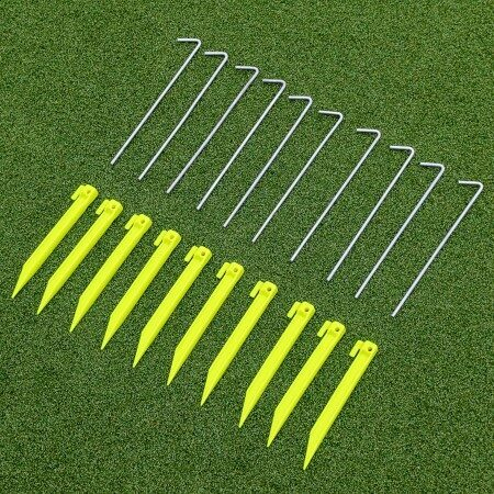 Steel & Plastic Net Pegs