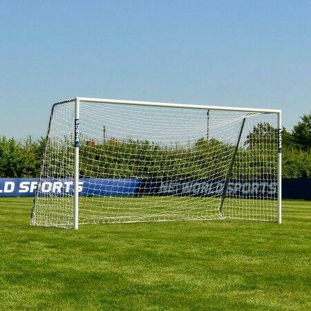12 x 6 FORZA Alu80 Football Goal