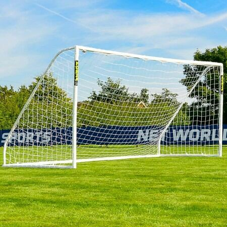 16 x 7 (4.9m x 2.1m) FORZA Match Football Goal Post | Net World Sports Australia