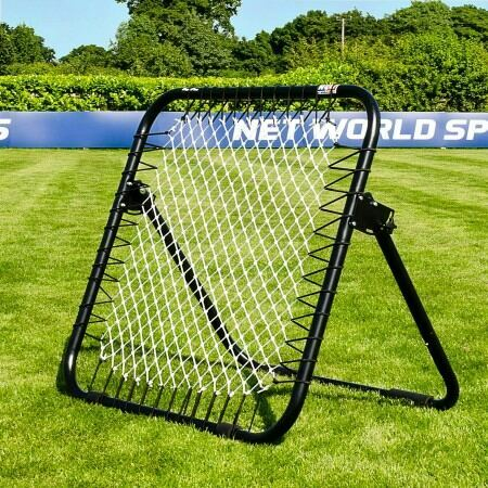 Single Sided Rebounder For Practice Training Drills | RapidFire Soccer Rebound Net