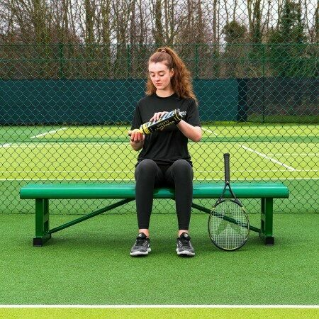 Tennis Players Bench - Tennis Court Seating Furniture | Vermont UK
