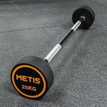Metis Rubber Barbell Weights [10kg-30kg] | Net World Sports