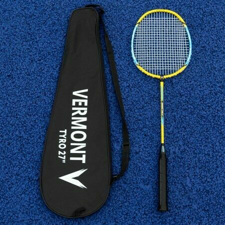 Vermont Tyro Badminton Racket | 3 Sizes | Steel & Aluminium Construction