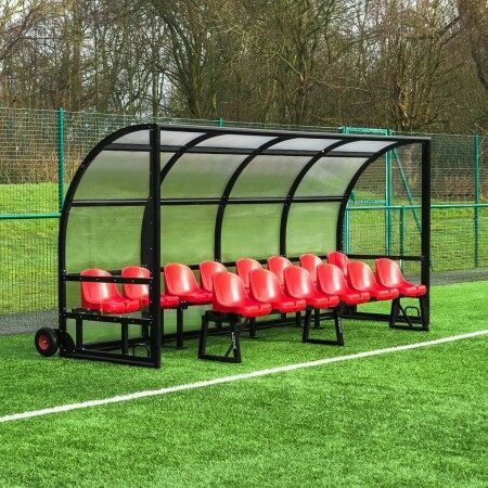 Professional Alu60 2 Tier Team Shelter & Bench | Net World Sports
