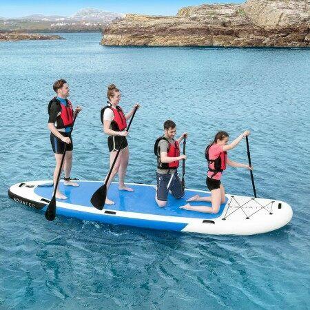 AquaTec 4 Person Paddle Board | Net World Sports
