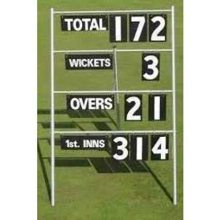Portable Cricket Scoreboard [4 Lines] | Net World Sports