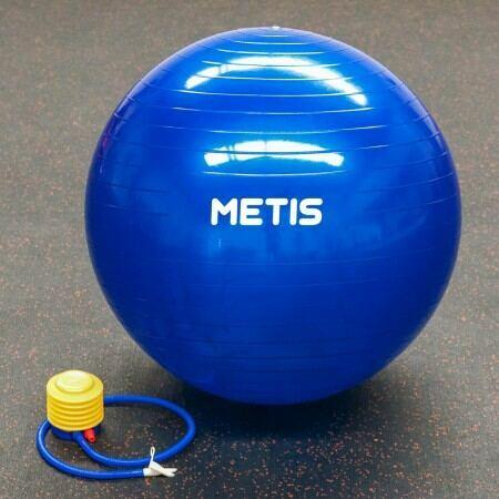METIS 65cm Yoga Ball with Pump | Net World Sports