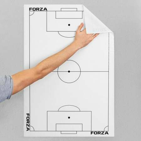 Adhesive Football Tactics Sheet | Net World Sports