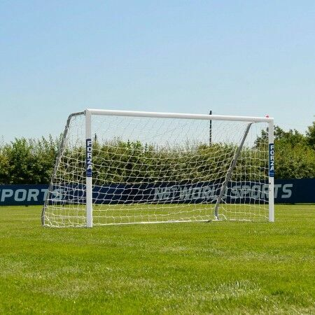 8 x 4 FORZA Alu80 Football Goal