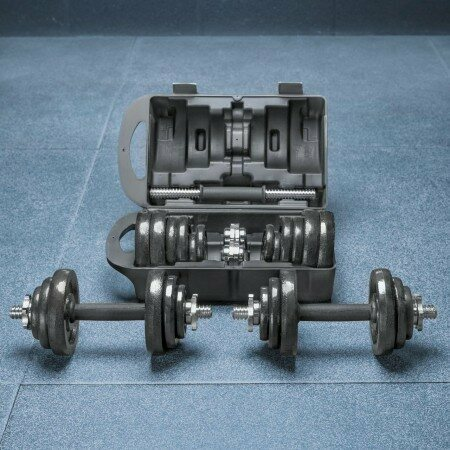 METIS Adjustable Dumbbells Set [20kg] | Net World Sports