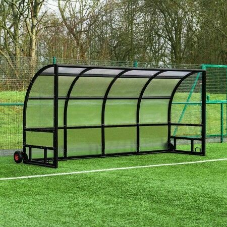Alu60 Smoking Shelter [Freestanding] - Black | Net World Sports