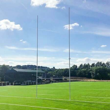 Aluminium Rugby Posts – Club Spec (6m, 10m Or 12m High)