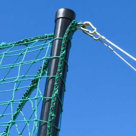 10ft Wooden Archery Netting Pole