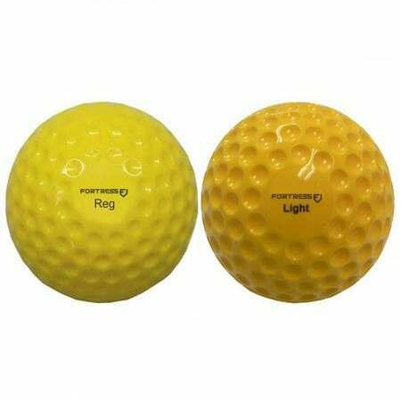FORTRESS Cricket Bowling Machine Balls [12 Pack] - Light & Regular