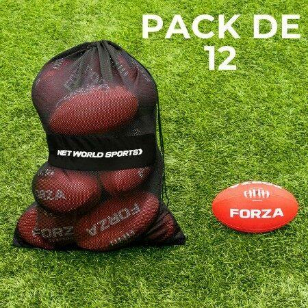 Balón Torpedo de entrenamiento de AFL con bolsa [Pack de 12]
