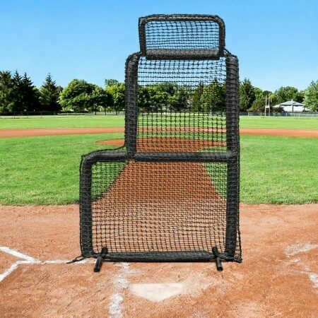baseball short toss screen