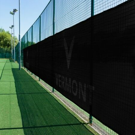 Black Outdoor Badminton Privacy Screen