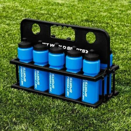 Blue AFL Water Bottles And Carrier