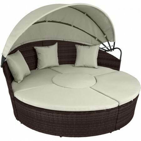Harrier Rattan Day Bed | Net World Sports