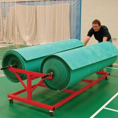 Cricket Mat Trolley (2 Mat) | Net World Sports Australia