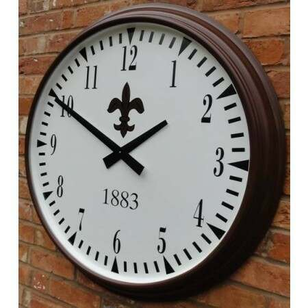 Cricket Club Clock Personalised Design | Cricket Clock