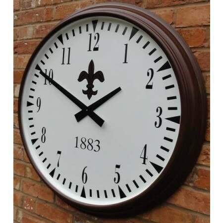 Cricket Club Clock Personalised Design | Cricket Clock